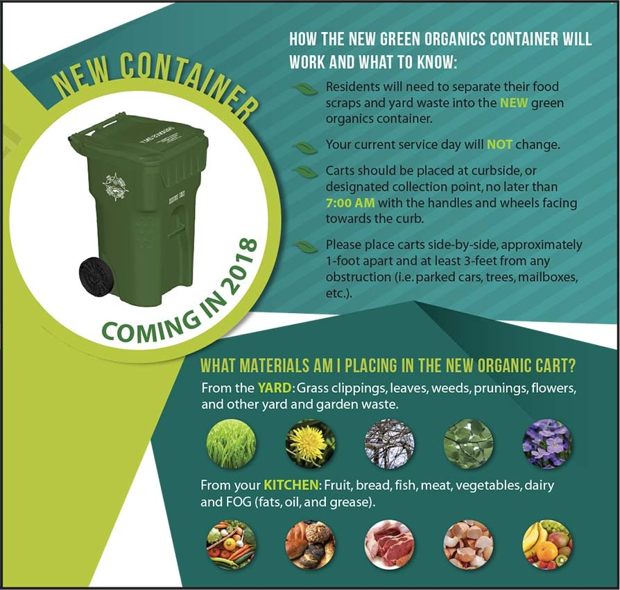 How the green organics container will work and what to know