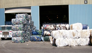 Bundled recyclables