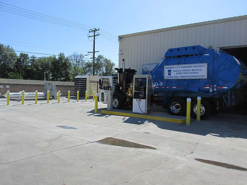 District truck fueling facility