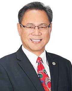 Board member Charlie Nguyen