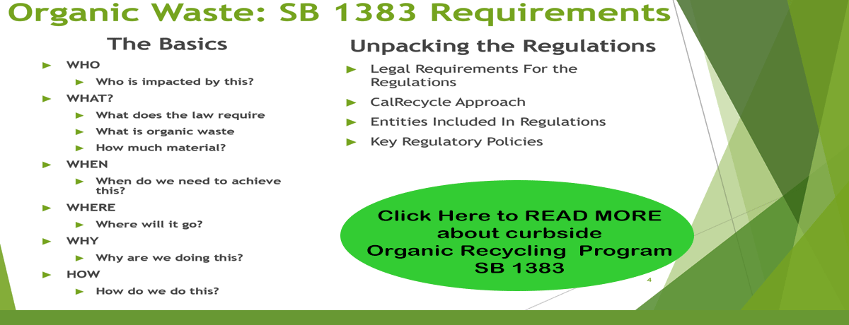 SB 1383 requirements