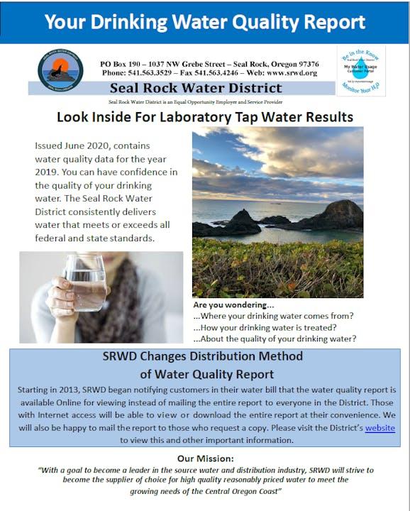 Water Quality Report screenshot