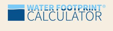 Water Footprint Calculator logo image