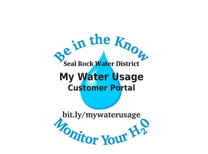 Be in the know Monitor your h2o logo