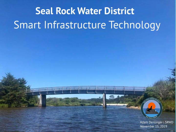 Image of Presentation for Smart Infrastructure Technology