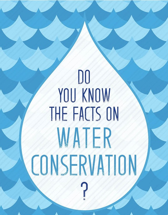 Do you know the facts on water conservation? image