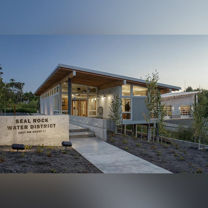 Image of Seal Rock Water District office building