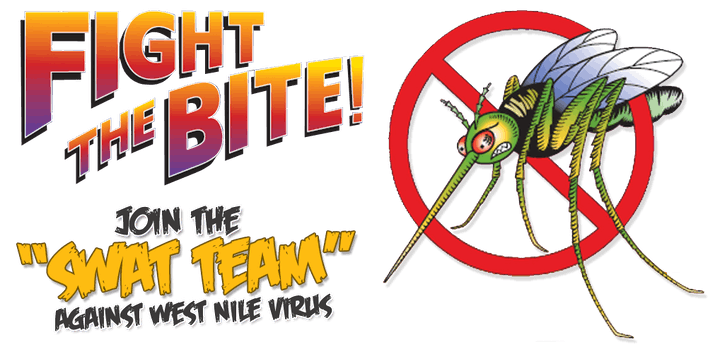 fight the bite mosquito banner