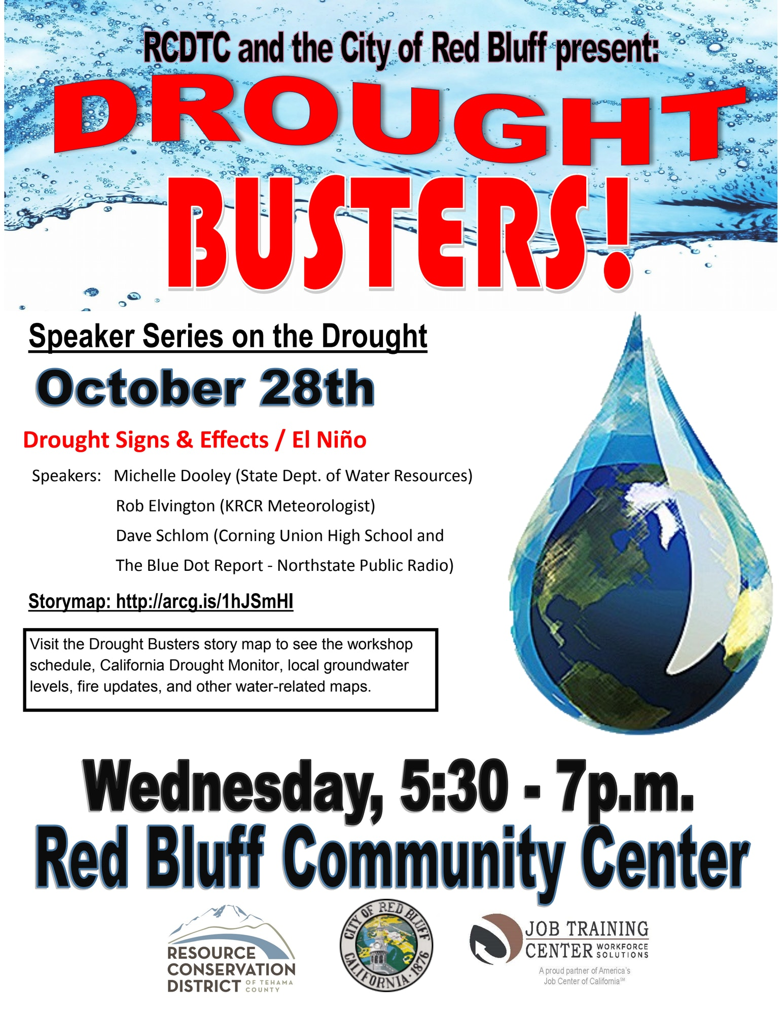Drought Busters Flyer