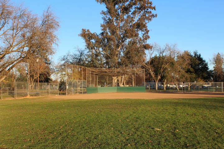 Softball Field at Carmichael Park