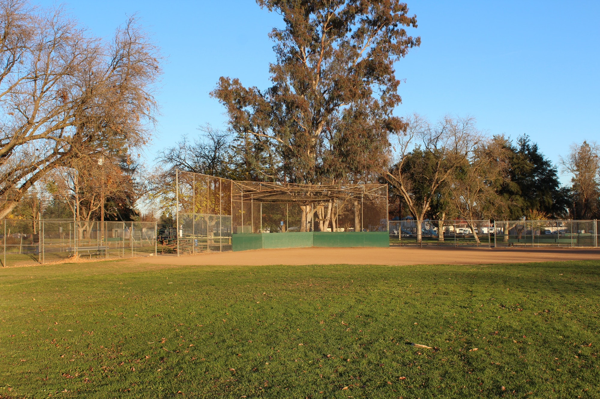 Softball Field at Carmichael Park