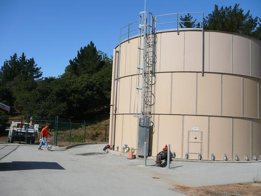 Cole Water Tank (2010): 212,000 gal- serves lower Cole Rd, and Rancho Larios tank