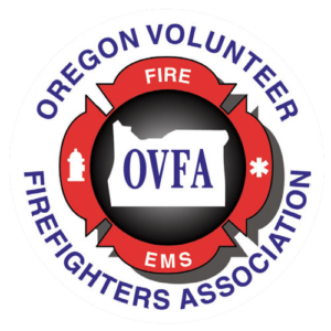 Oregon Volunteer Firefighters Association logo