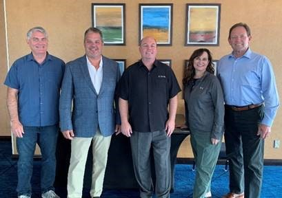 Pictured left to right: Frank Stratton, Executive Director, Special Districts Association of Oregon; David Ramba, Executive Director, Florida Association of Special Districts; Neil McCormick, Chief Executive Officer, California Special Districts Association; Ann Terry, Executive Director, Special Districts Association of Colorado; LeGrand Bitter, Executive Director, Utah Association of Special Districts