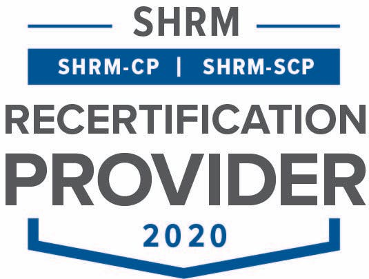 Society of Human Resource Management Recertification Provider Logo 2020