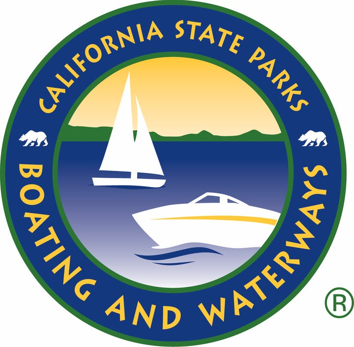 California State Parks, Dept. of Boating and Waterways Logo