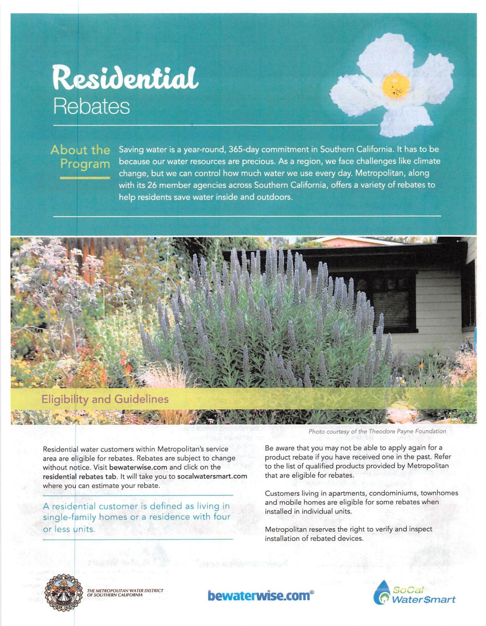 Rebate information page 1