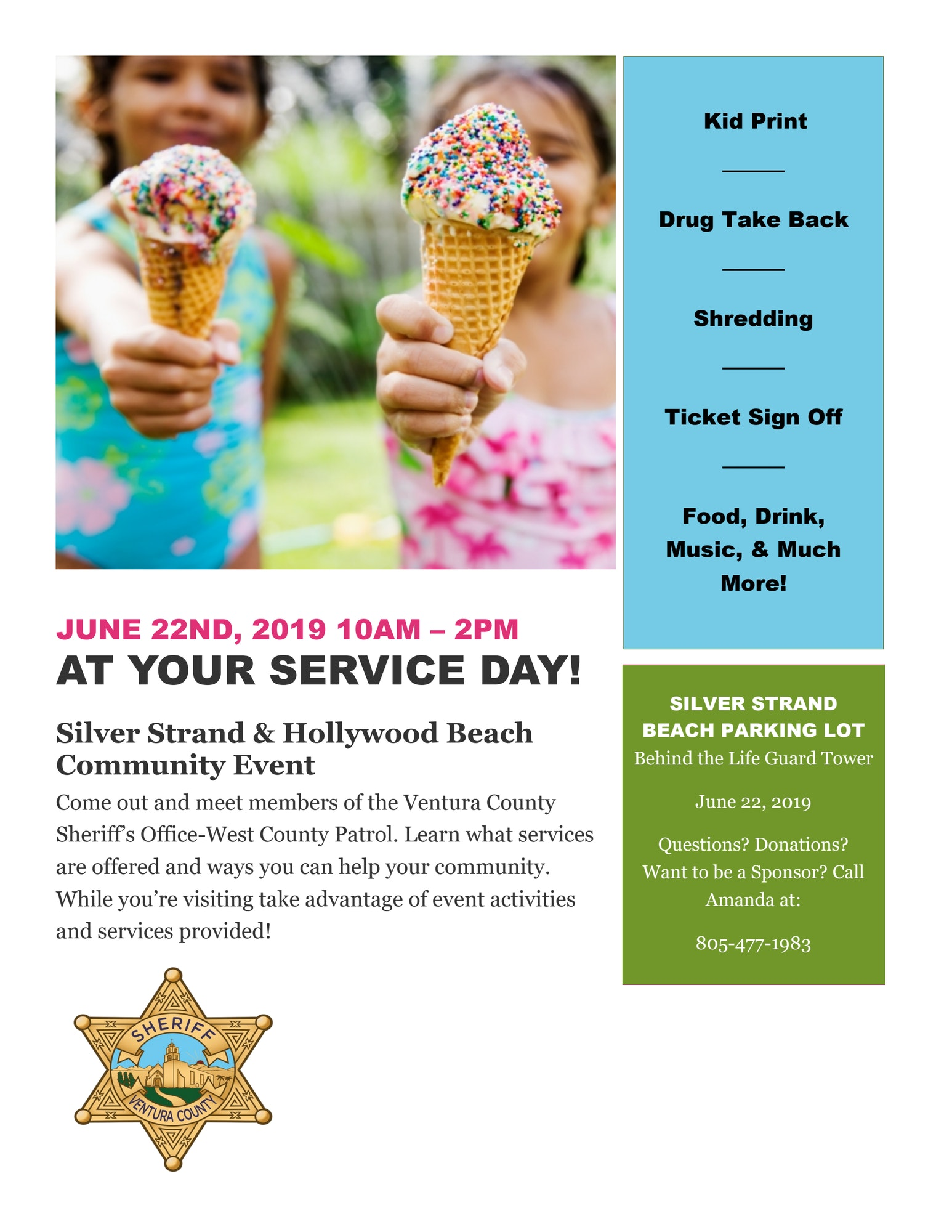 At your Service Day Flyer