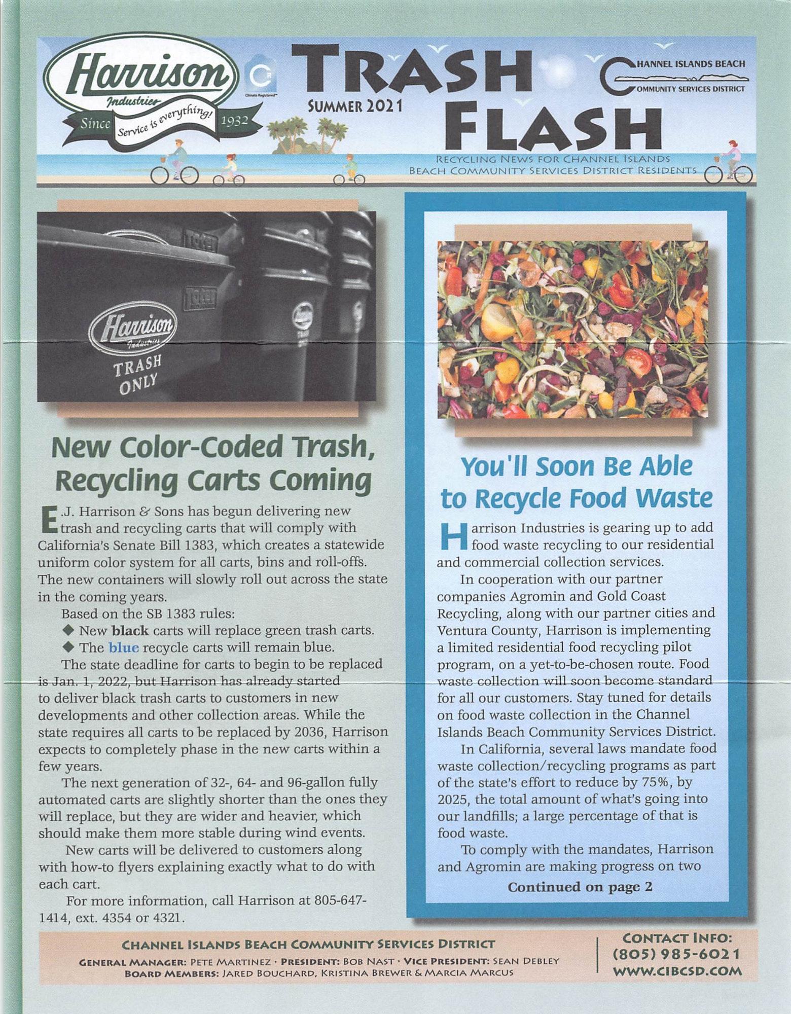 Summer 2021 Trash flash page 1