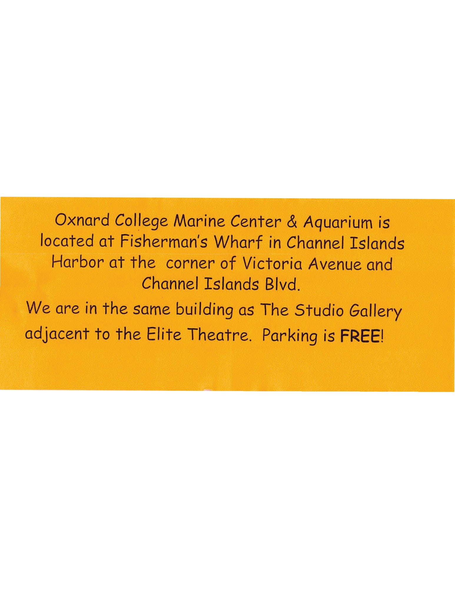 Oxnard College Flyer page 2