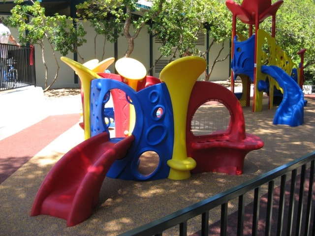 May contain: toy, playground, and play area