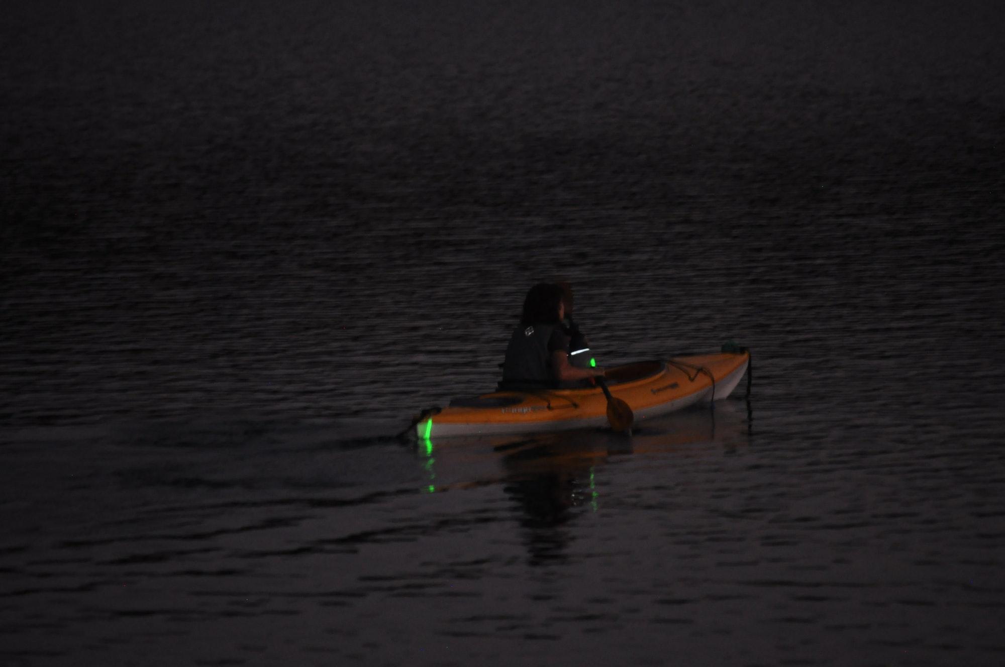 May contain: human, person, vehicle, transportation, boat, rowboat, and canoe