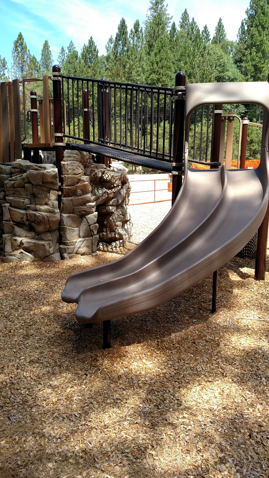 May contain: play area, playground, slide, and toy