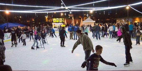 May contain: human, person, sport, sports, skating, ice skating, and rink