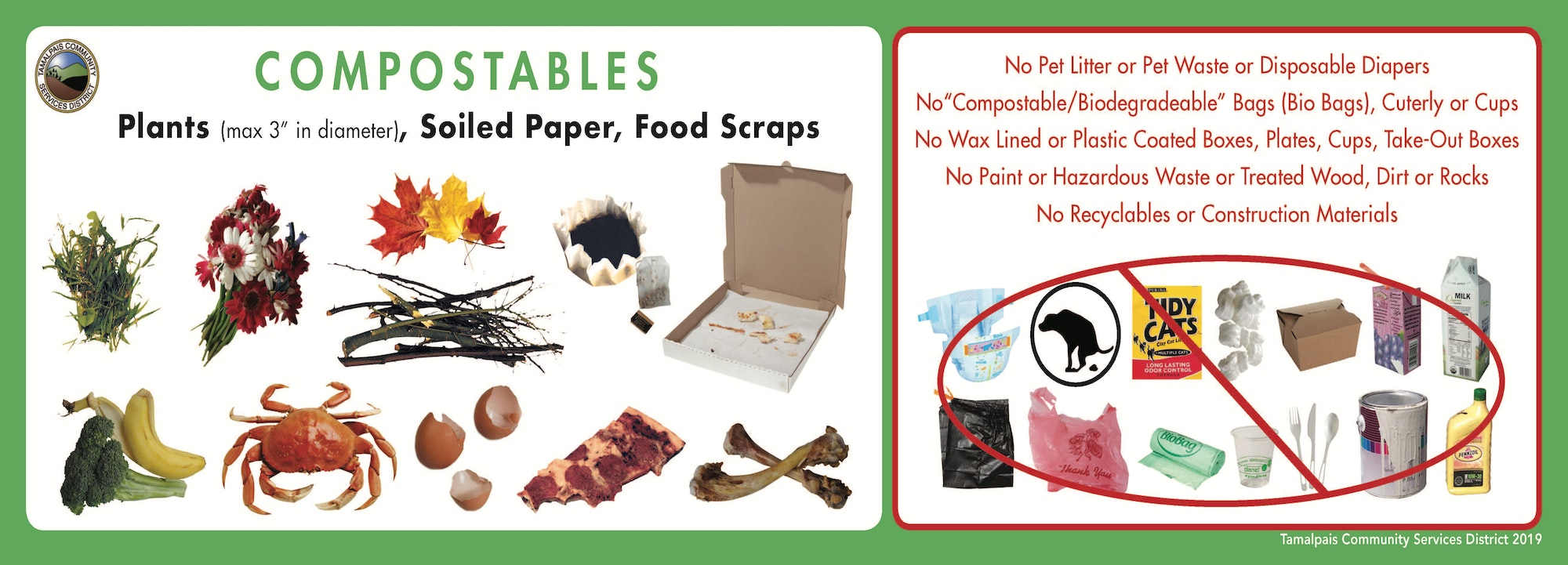 Compostables Sticker