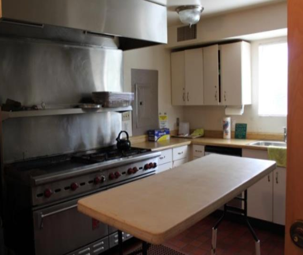 Picture of the Tam Valley Community Center kitchen.