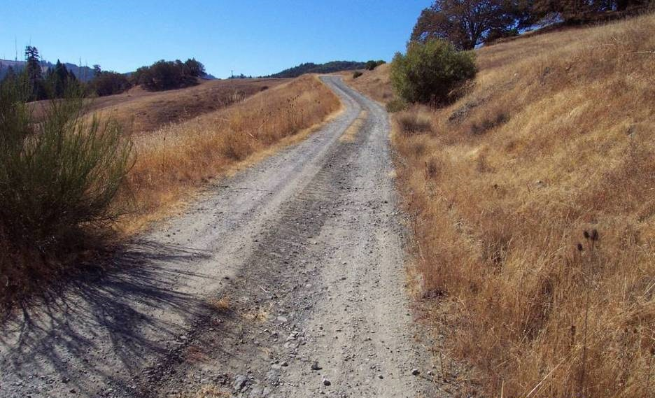 May contain: dirt road, road, gravel, and path