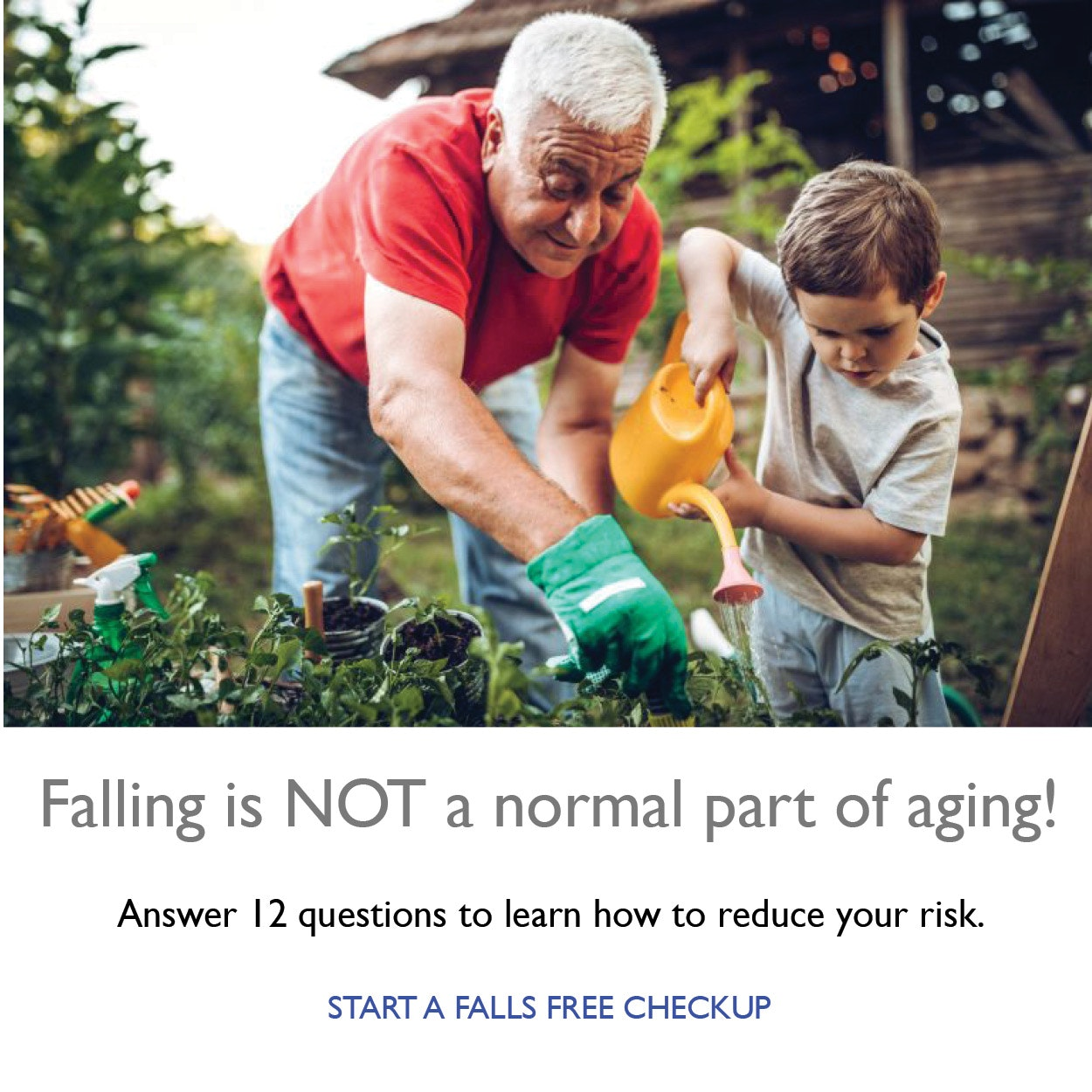 National Council on Aging Fall Prevention Survey
