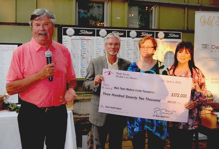 Big check goes for Breast Health Program
