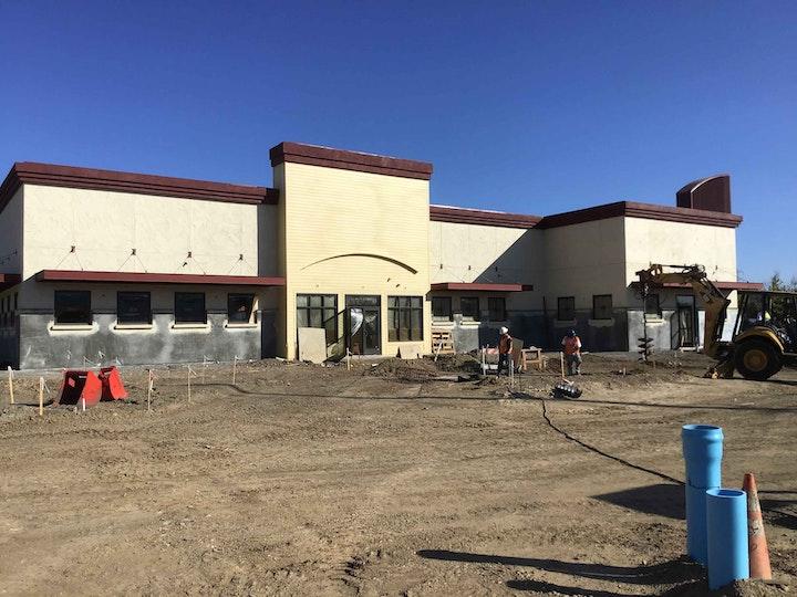 Progress of new Valley Springs Health & Wellness Center