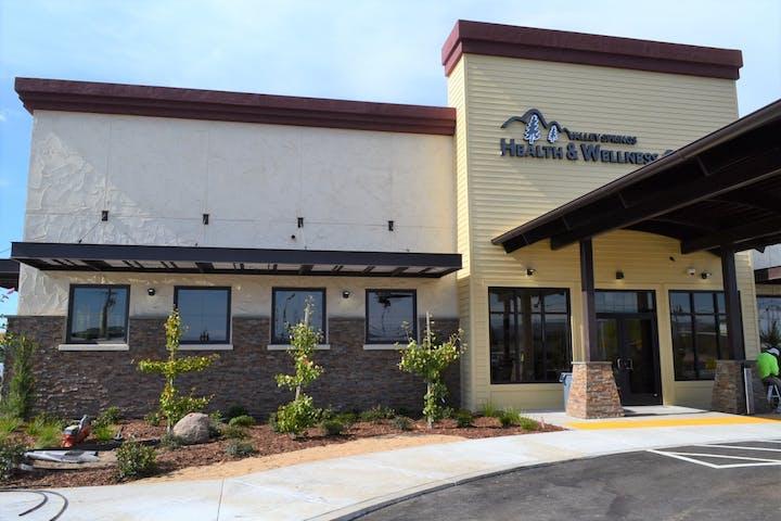 Front entrance of building for VSHWC