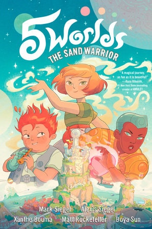 Book cover The Sand Warrior