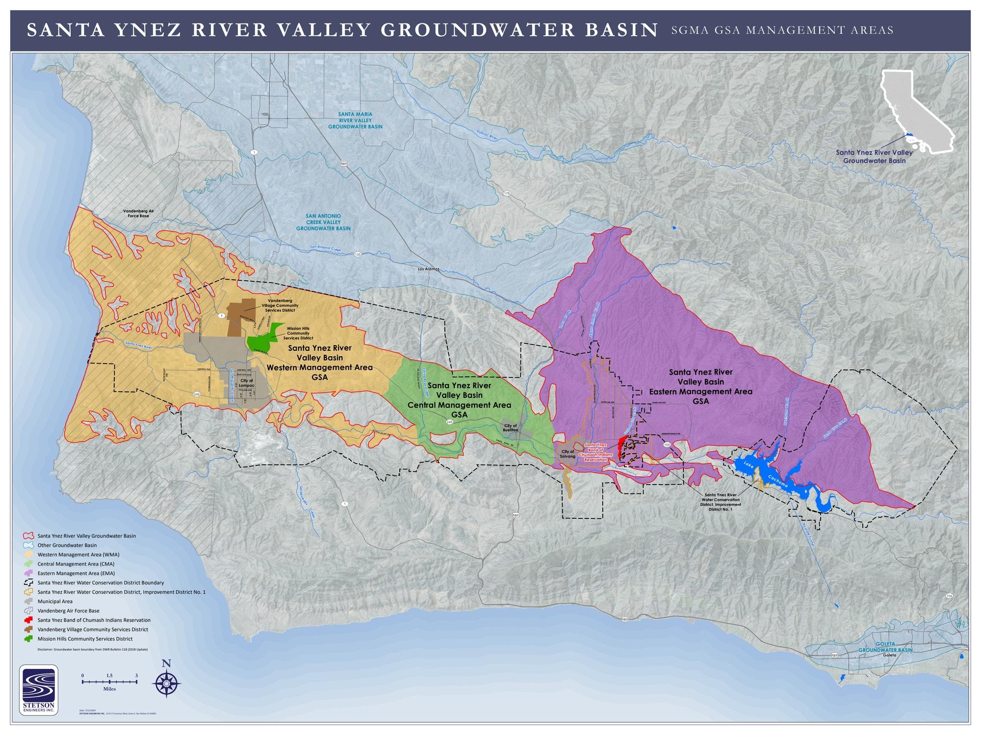 Map GSA boundaries