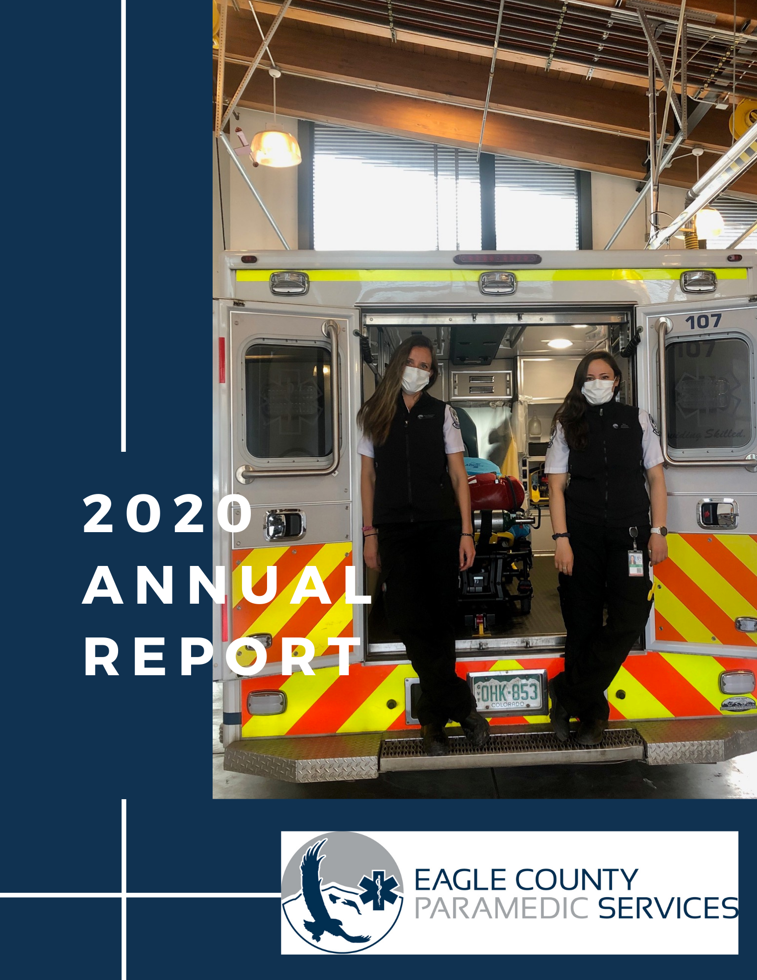 Picture of the front page of the 2020 ECPS Annual Report