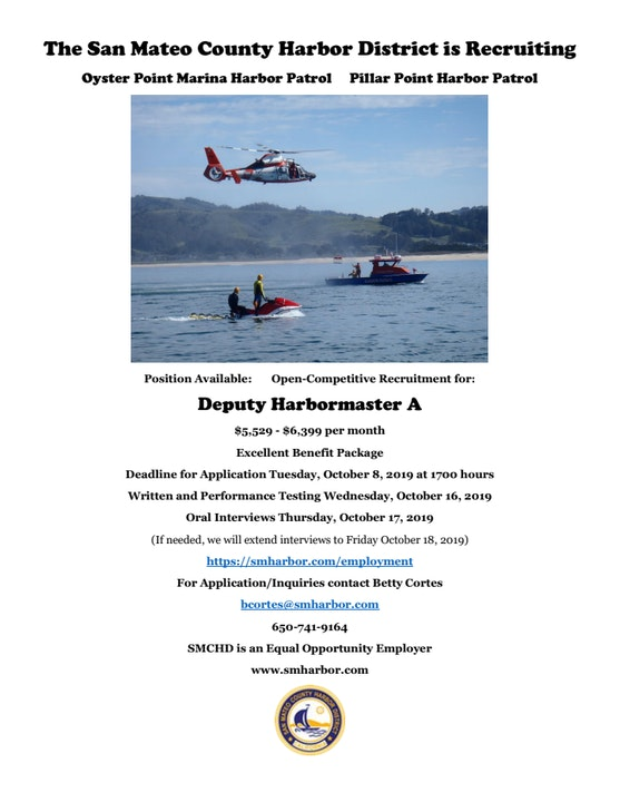 Job posting for Deputy Harbor Master