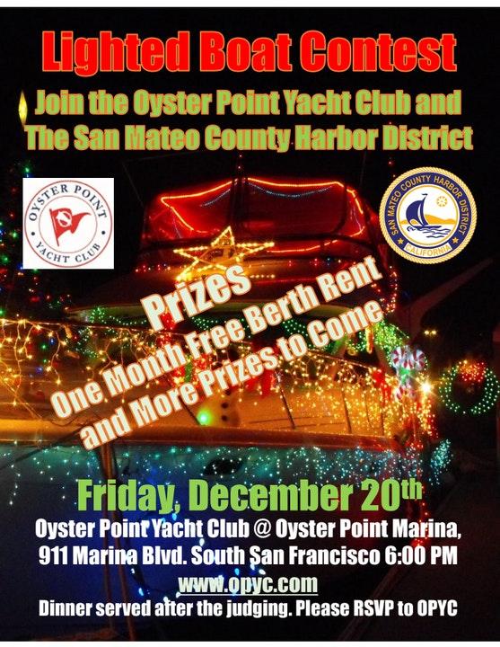 Flyer for Lighted Boat Festival