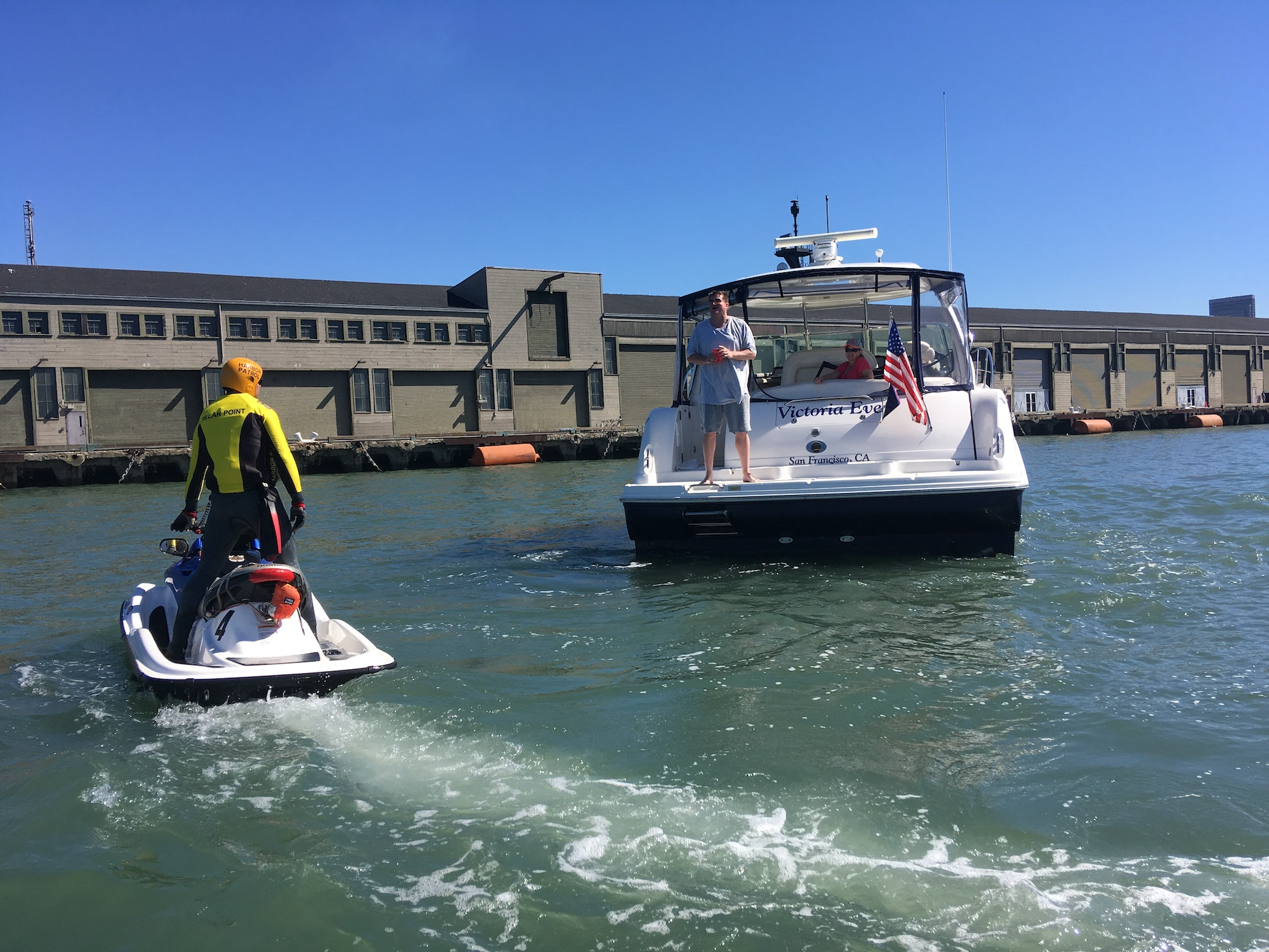 Image Deputy Harbormasters on watercraft