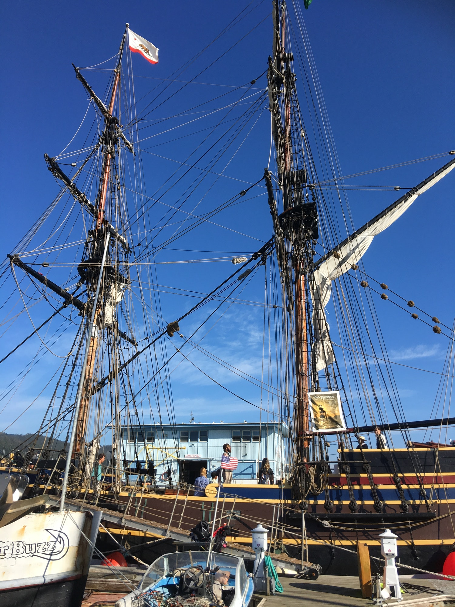 Image Tall Ship Lady Washington