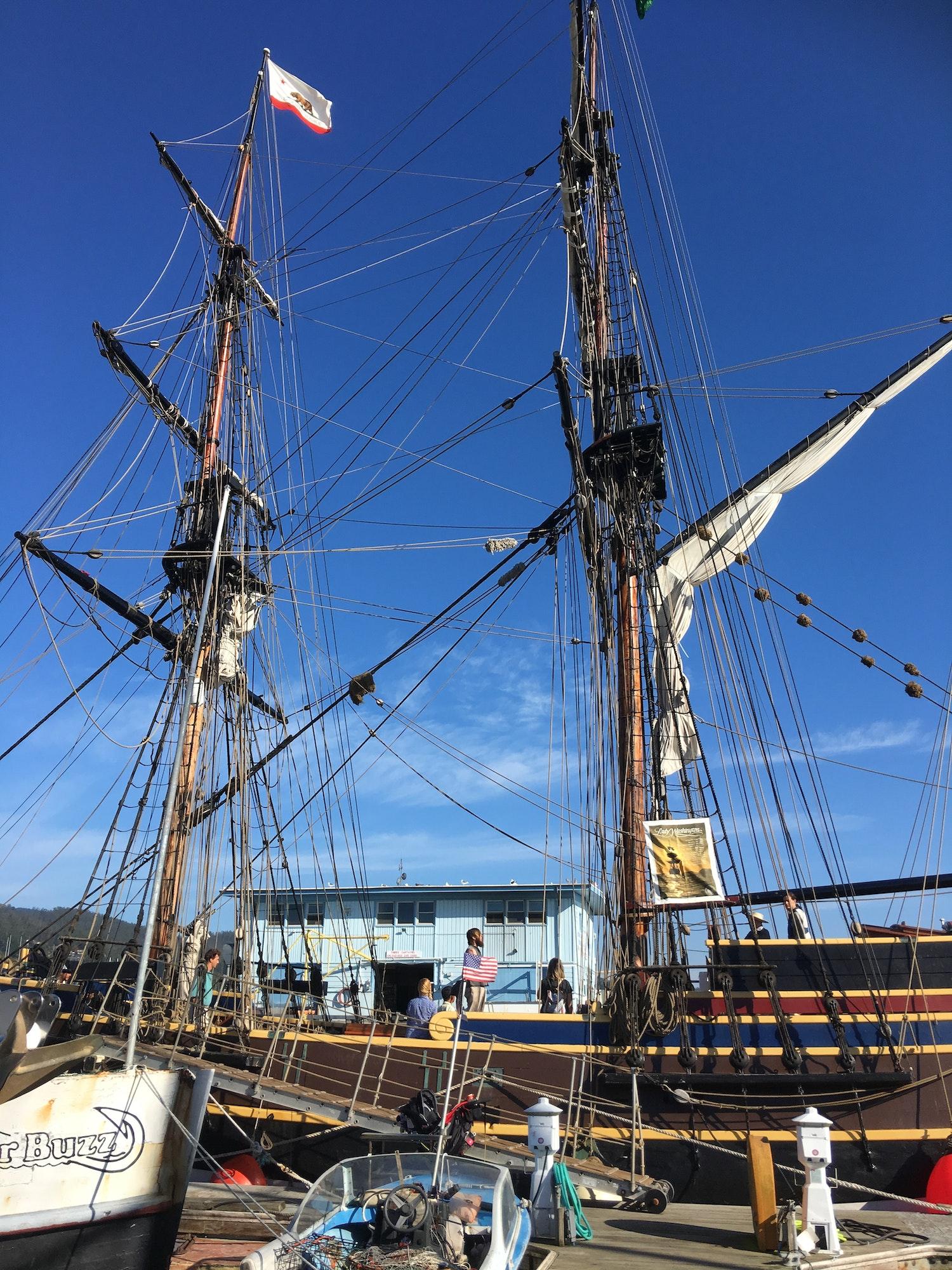 Image Tall Ship Lady Washington
