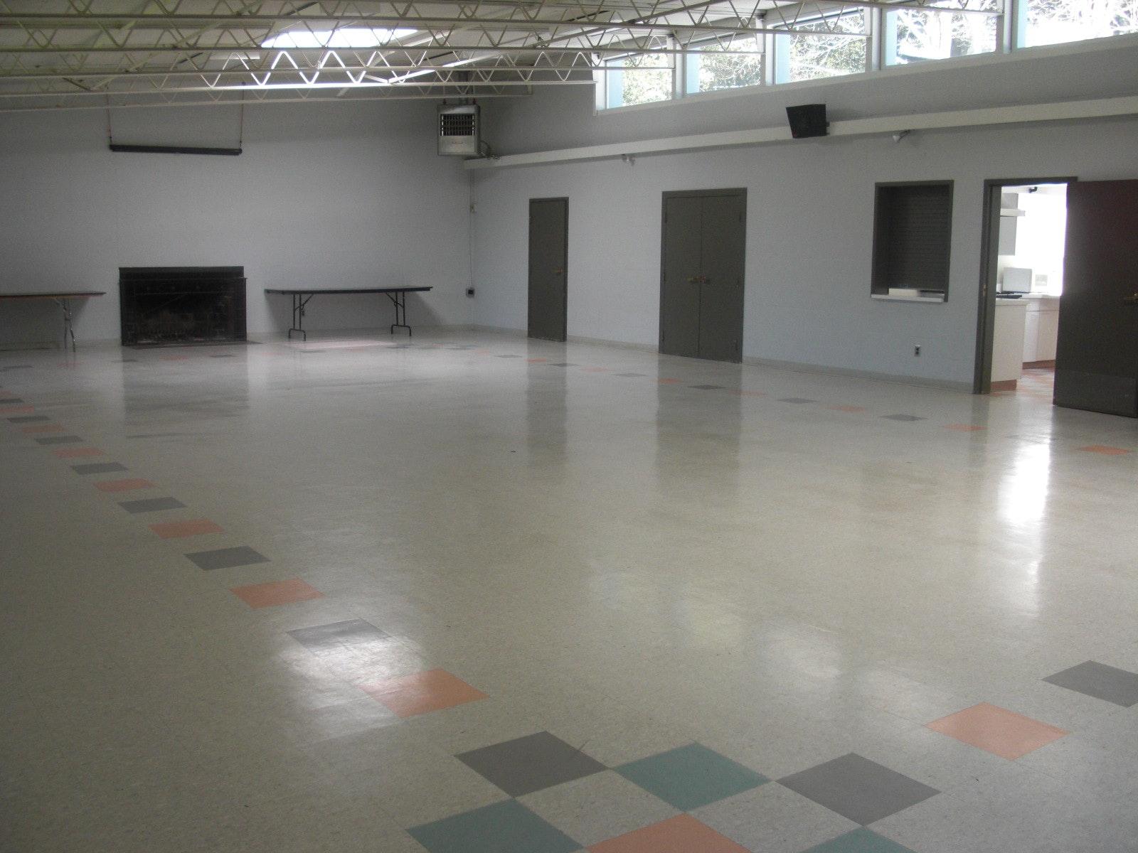 May contain: floor, flooring, and door