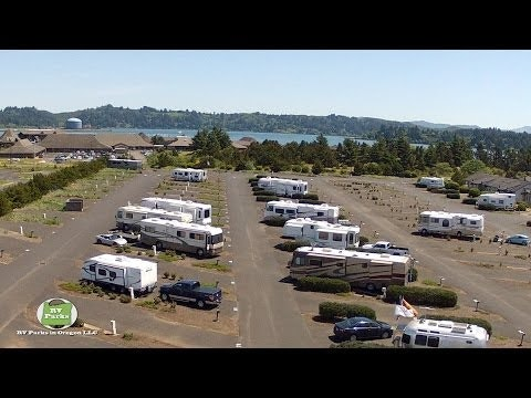 RVs at the Marina RV Park