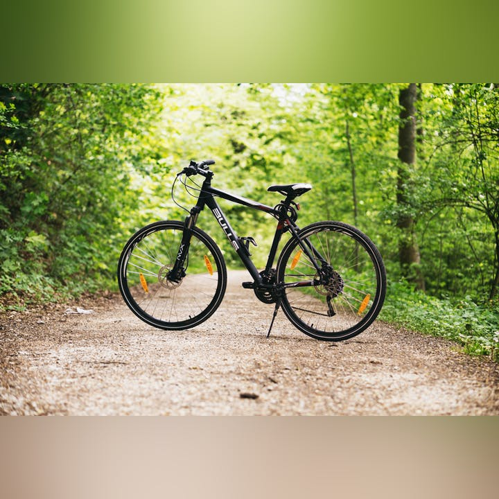 May contain: bicycle, bike, vehicle, transportation, wheel, machine, and mountain bike