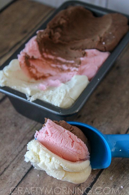 Edible Ice cream playdough
