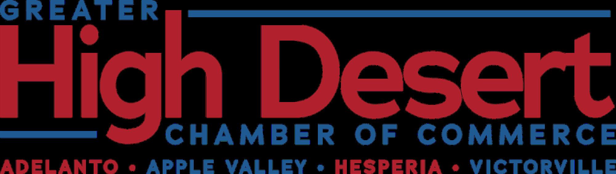Greater High Desert Chamber of Commerce Adelanto, Apple Valley, Hesperia, Victorville logo