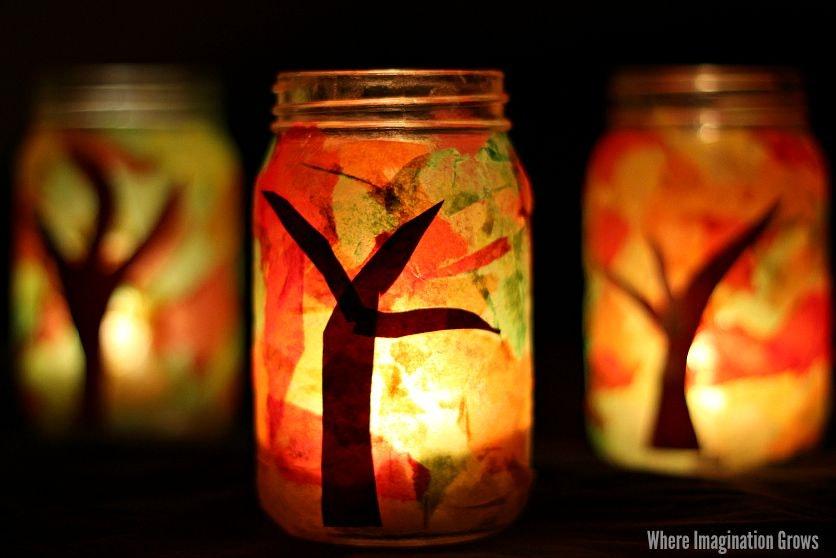 May contain: lantern and lamp