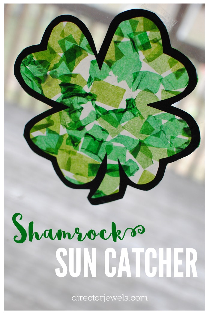 Shamrock sun catcher